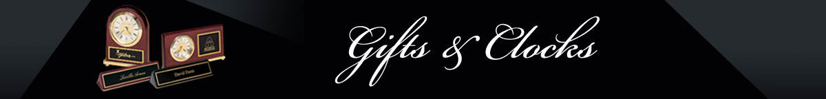 Gifts and Clocks Header